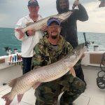 Fall Muskie Fishing Lake St. Clair