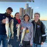 Walleye Fishing Charter Detroit River